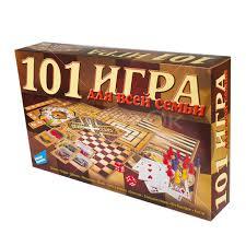 <b>Игра настольная Dream Makers</b> 101 <b>игра</b> для всей семьи 1601H в ...