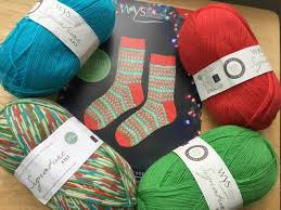 Fairy Lights Sock Kit Signature 4 Ply In Fairy Lights From West Yorkshire Spinners