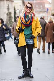 let s see more photos women s style with colorful winter coats below