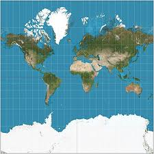 World Map Chart Maker Mercator Projection Wikipedia