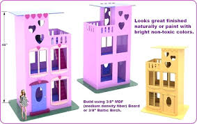 barbie doll furniture plans. Wooden Barbie Doll House Furniture Plans Easy Build For Dolls .