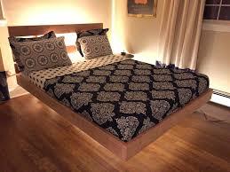 floating diy bed frame