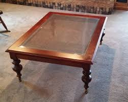 ethan allen over sized coffee table