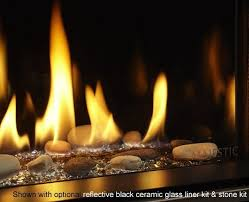 echelon ii 36 wide view fireplace by majestic