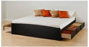 Storage Bed: King Size Storage Bed With Drawers