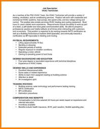 Hvac Technician Resume Examples Fascinating Tech Template For Your ...