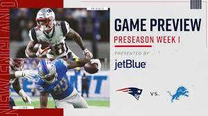 Detroit Lions Depth Chart 2018 Game Preview Patriots At Lions