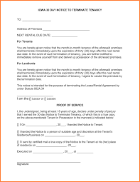 Rental Rental Lease Termination Form Notice Florida Letter Ontario