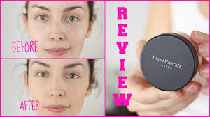 mineral makeup review pros cons demo using bareminerals amandamuse you