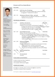 Resume Sample Format For Job Application Best Of Template Pdf Job