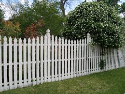 white wood fence. Brilliant Fence White Picket Fence Intended Wood D