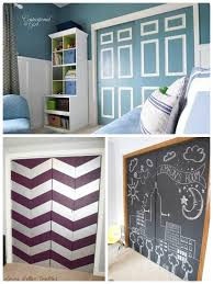 or you can paint image number 15 of painted wardrobe doors