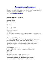 dance resume template getessay biz film resume s dance resume by sayeds inside dance resume