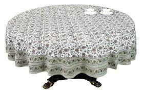 84 inch round tablecloth square fits what size table oval