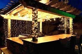 outdoor patio light ideas outside lights string strings lighting bulbs o
