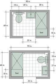 small bathroom layout 5 x 7 google search