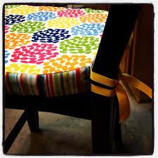 make an easy diy chair cushion