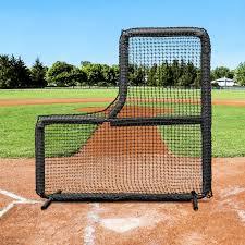 Training 7ft x Baseball L-Screen Frame \u0026 Net [Nimitz Edition] FORTRESS Elite   World