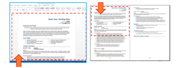 Create A High Impact Cv In 4 Simple Steps Professional Cv Template
