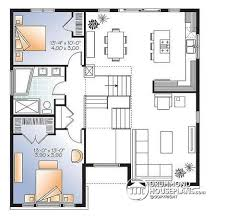 Small Picture House plan W3490 detail from DrummondHousePlanscom