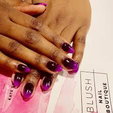blush nail