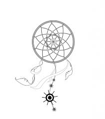 How To Draw A Dream Catcher Simple Dreamcatcher Drawing Drawing Art Gallery 87