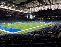 Ford Field Section 121 Seat Views Seatgeek