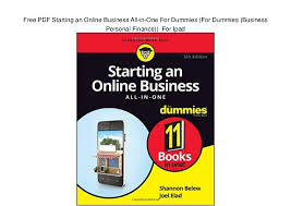 pdf starting an online business all in one for dummies for dumm   pdf starting an online business all in one for dummies for dummies