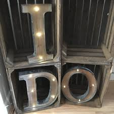 large size of giant wooden letters rustic barn style led light up letter lights a z sample
