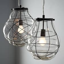 blown glass lighting. Hand Blown Glass Lighting Organic Pendant West Elm I
