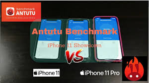 Antutu V8 iPhone 11 Showdown, iPhone 11 vs iPhone 11 Pro vs iPhone 11 Pro  Max - YouTube
