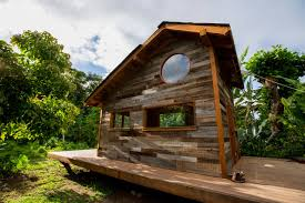 Architecture  Retro Modern Tiny House Design Come With Wood - House designs interior and exterior
