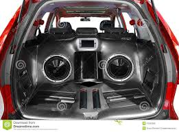 How To Design A Good Car Audio System Car Audio System Stock Image Image Of Reproduction