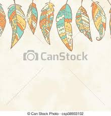What Were Dream Catchers Used For Gorgeous Background With Tribal Feathers Dream Catcher And Place For Text