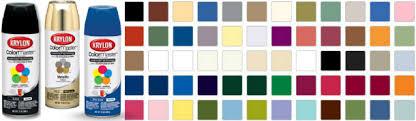 Krylon Color Chart 20 Best Ideas Krylon Spray Paint Colors Best Collections