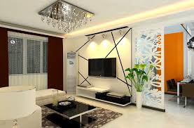 Perfect Living Room Color Perfect Living Room Colour With Square Crystal Chandelier And Tv