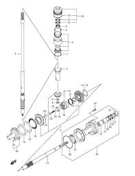 how to replace a propeller shaft oil seal on a df150 suzuki outboard? Suzuki 175 Outboard Wiring Diagram Suzuki 175 Outboard Wiring Diagram #22 Suzuki DT50 Outboard Wiring Diagrams