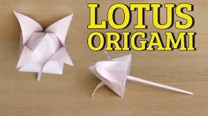 Paper Origami Flower Making 3d Origami Flowers Tutorial Easy Paper Flower Folding Origami