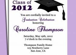 sample graduation invitations invitation for graduation ceremony cloveranddot com