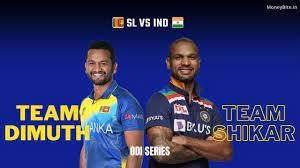 India vs Sri Lanka First ODI Match Time ...