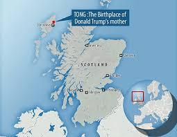 「trump's mother, fan of elizabeth , born in scotland」の画像検索結果