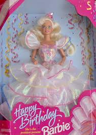 Amazoncom Happy Birthday Barbie Doll Shes The Prettiest Present