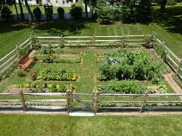 image of awesome fence garden ideas