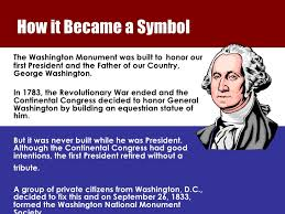 Image result for a private Washington National Monument Society was formed