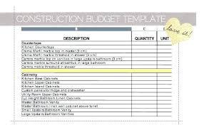 Home Renovation Cost Worksheet Improvement Loans Credit