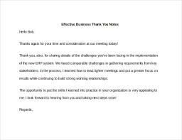 Business Thank You Notes 100 Business Thank You Notes Free Sample Example Format Download 2