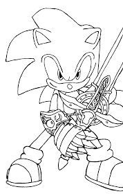 Small Picture Sonic Coloring Pages 5 Coloring Kids