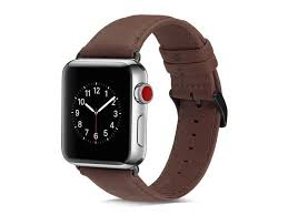 honejeen compatible with apple watch band 44mm 42mm retro genuine leather watch strap replacement for