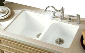 kohler cast iron undermount kitchen sink good porcelain executive chef in 4 n5