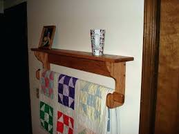quilt hangers for wall quilt rack plans wall hanging quilt rack and shelf free wall mounted